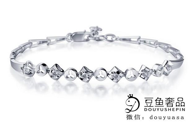 铂金钻石手链回收值钱吗?