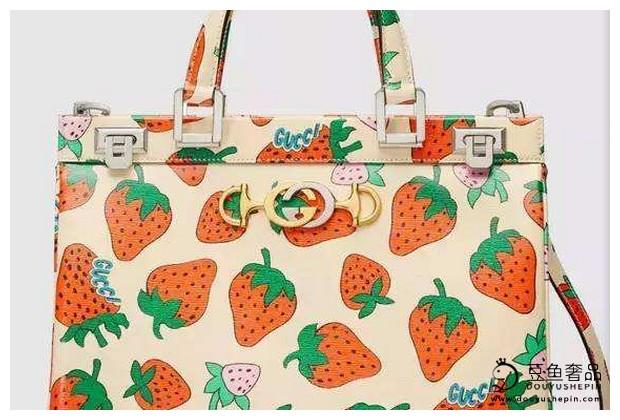 Gucci草莓包有没有打动你的心?回收价值高吗?