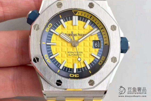 爱彼皇家橡树离岸绿色盘面_上海豆鱼奢品可以回收手表吗?