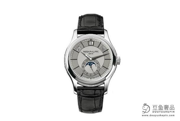 百达翡丽5205G-001复杂功能计时手表回收价