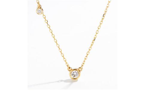 二手蒂芙尼钻石项链在钻石回收店几折